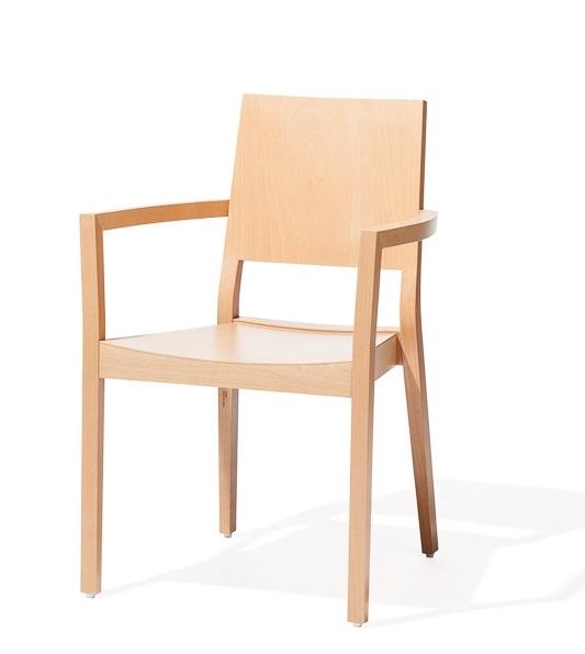 Scaun din lemn de fag Lyon 516