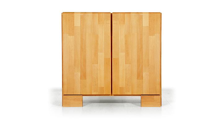 Dulap din lemn masiv de fag Seti 800 2D