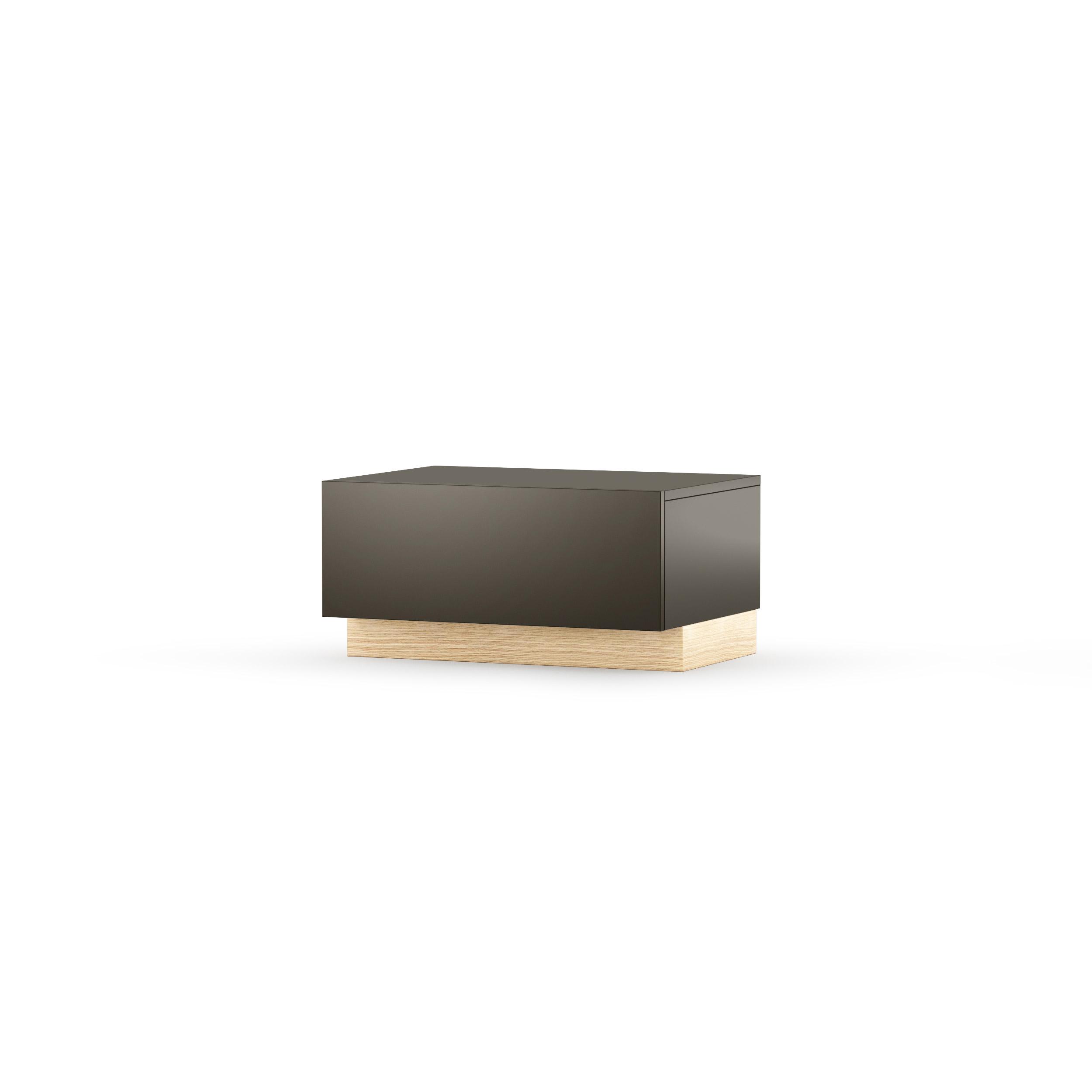 Comoda Tv Nook Drawer Oak Graphite  L65xl32xh47 Cm