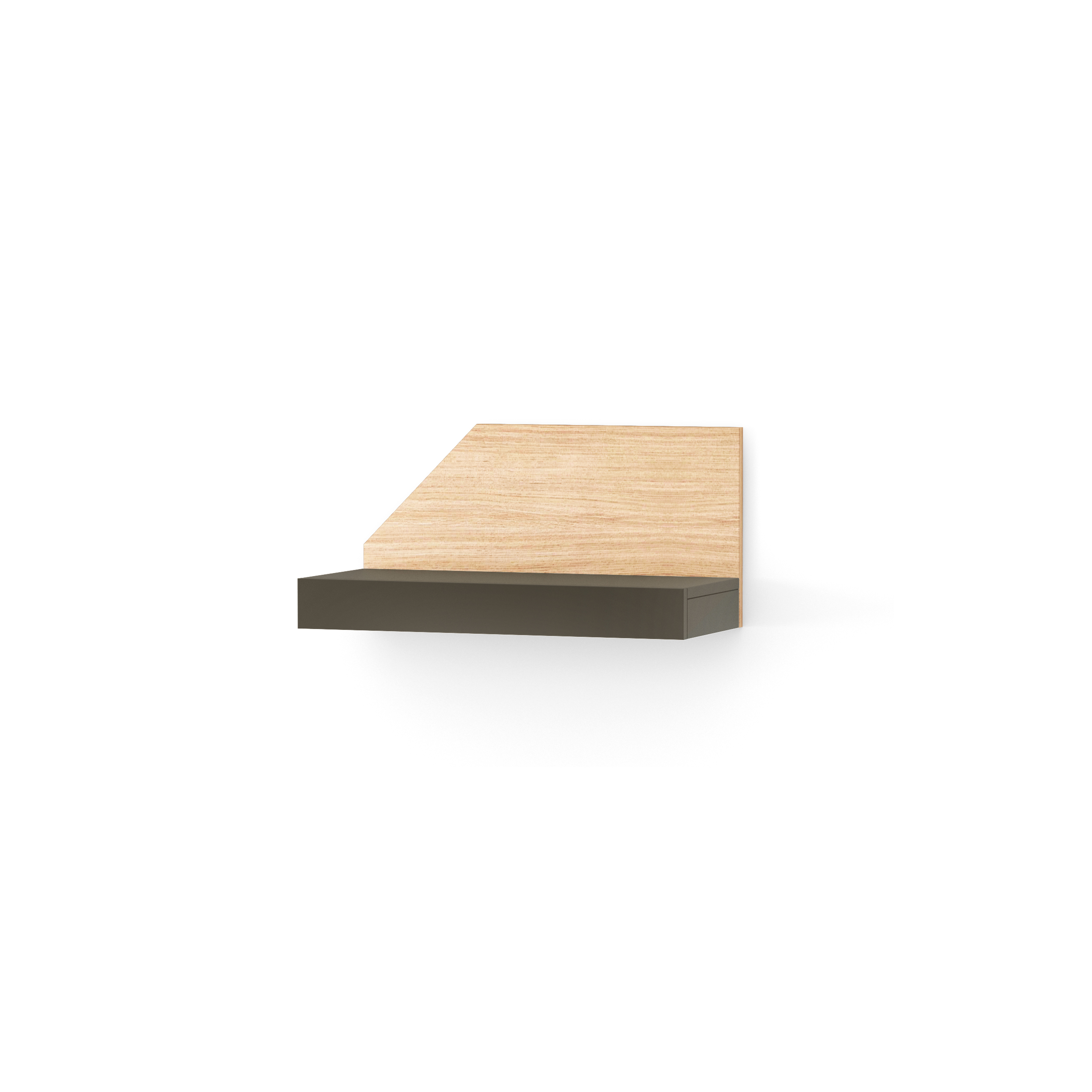 Etajera Nook Left Oak Graphite  L65xl29xh32 Cm