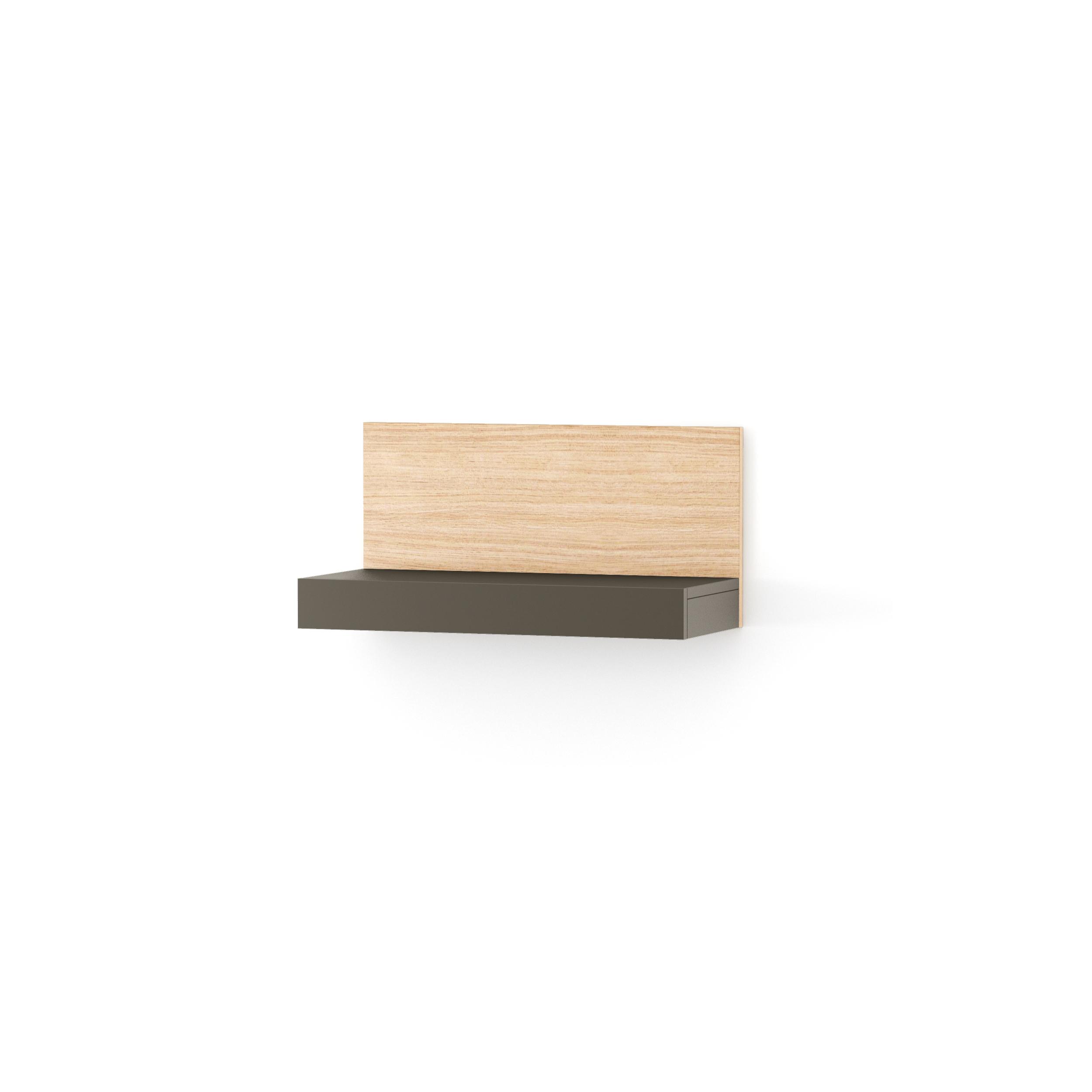 Etajera Nook Middle Oak Graphite  L65xl29xh32 Cm