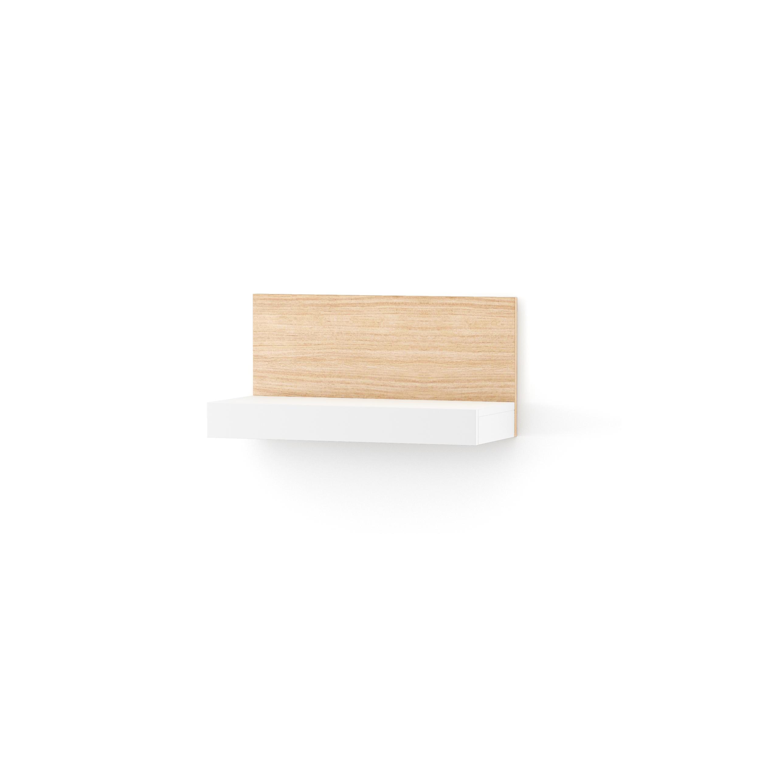 Etajera Nook Middle Oak White  L65xl29xh32 Cm