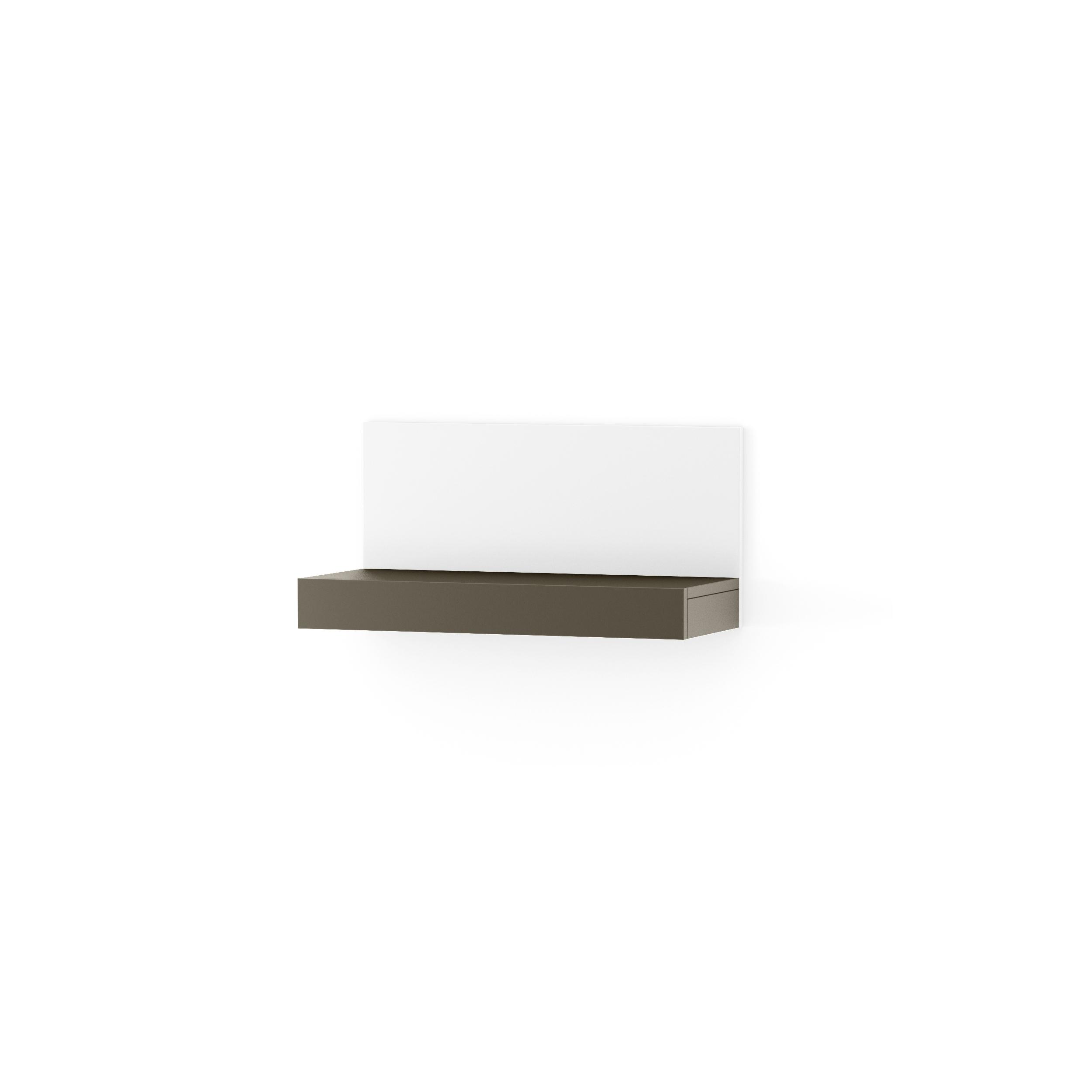 Etajera Nook Middle Graphite/white  L65xl29xh32 Cm