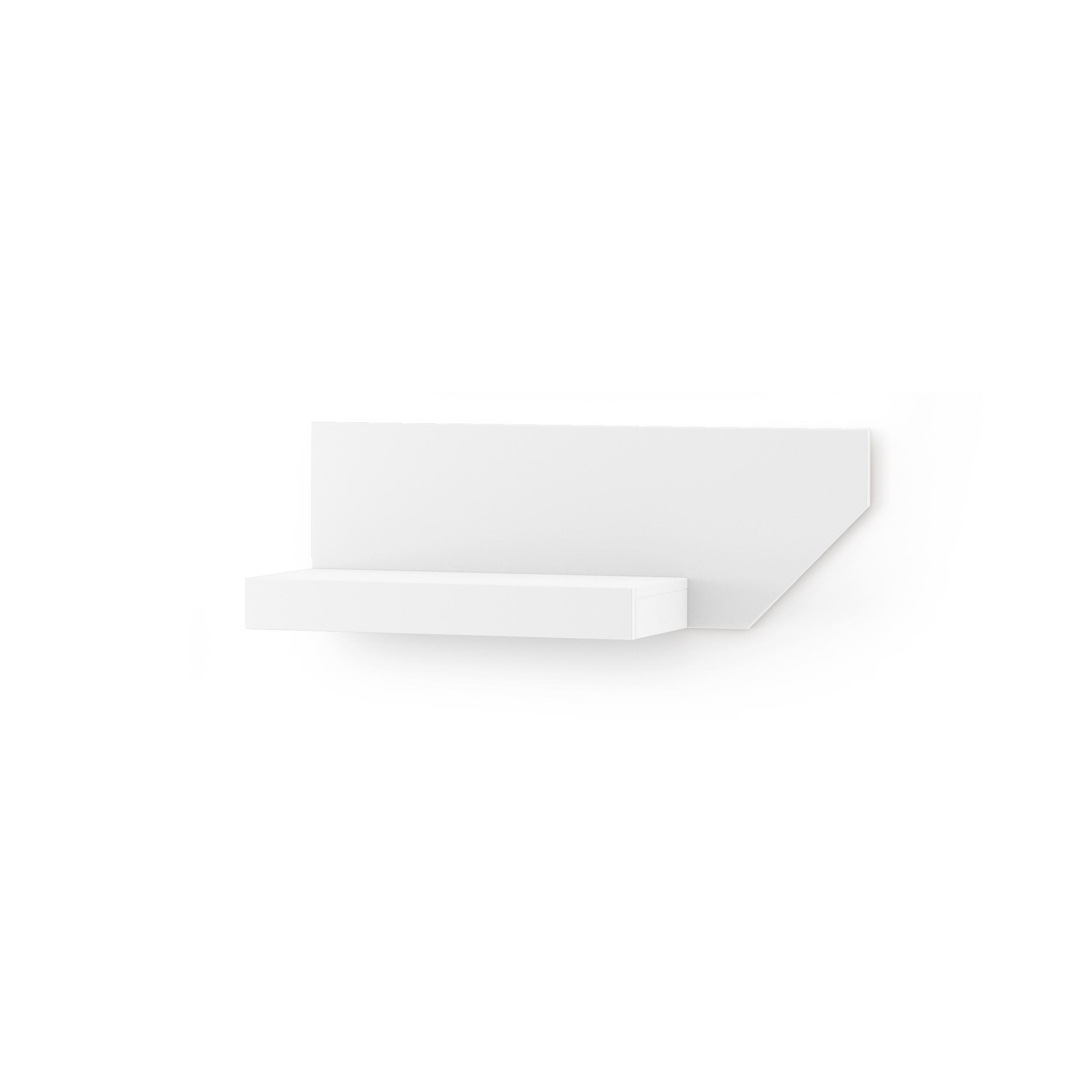 Etajera Nook Right White  L95xl29xh32 Cm