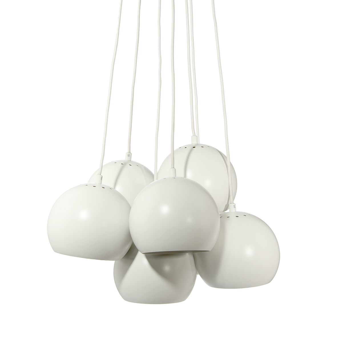 Lustra Ball Multi White Matt