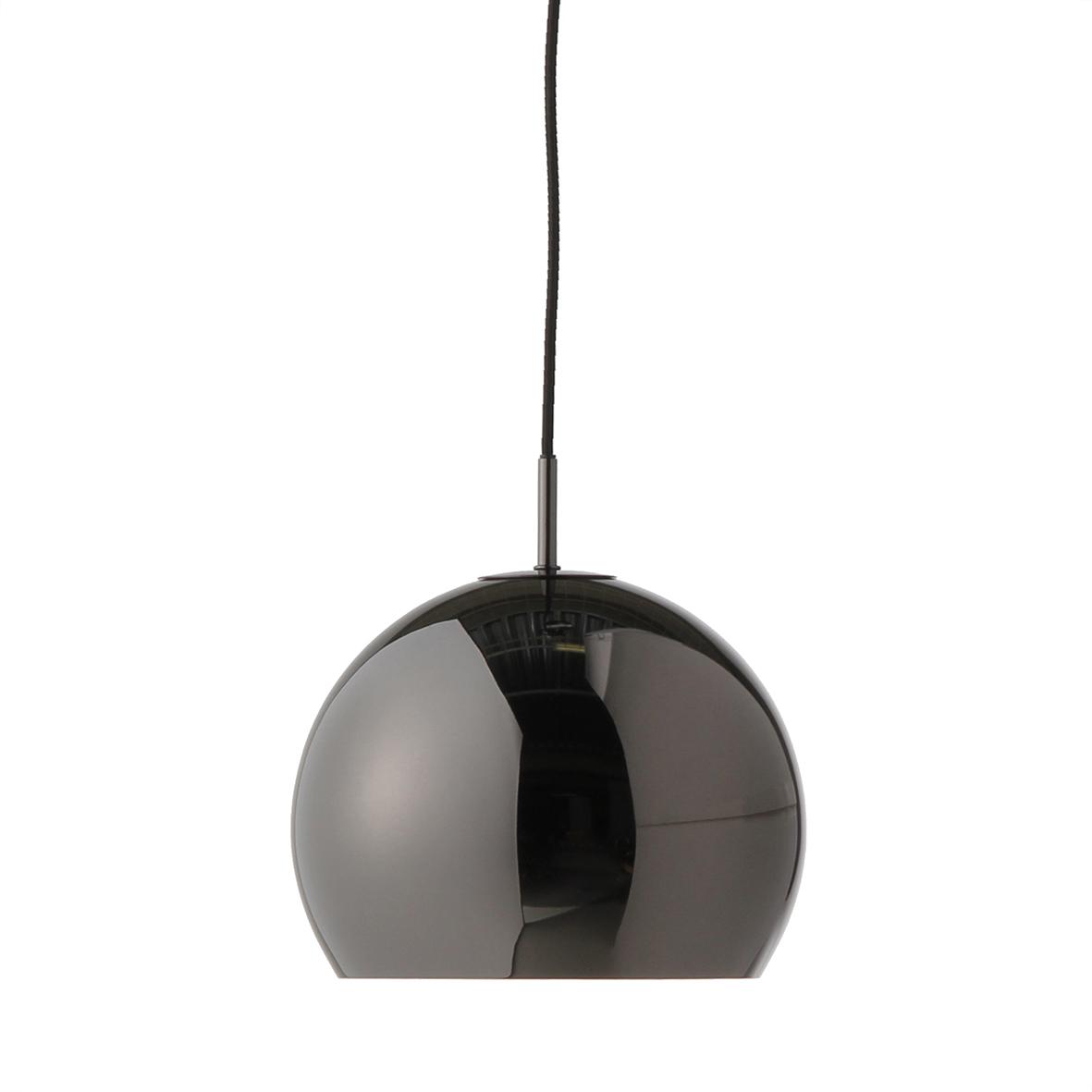 Lustra Ball Black Chrome Glossy Ø 25 Cm