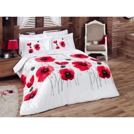 Lenjerie de pat Satin Poppy Flower