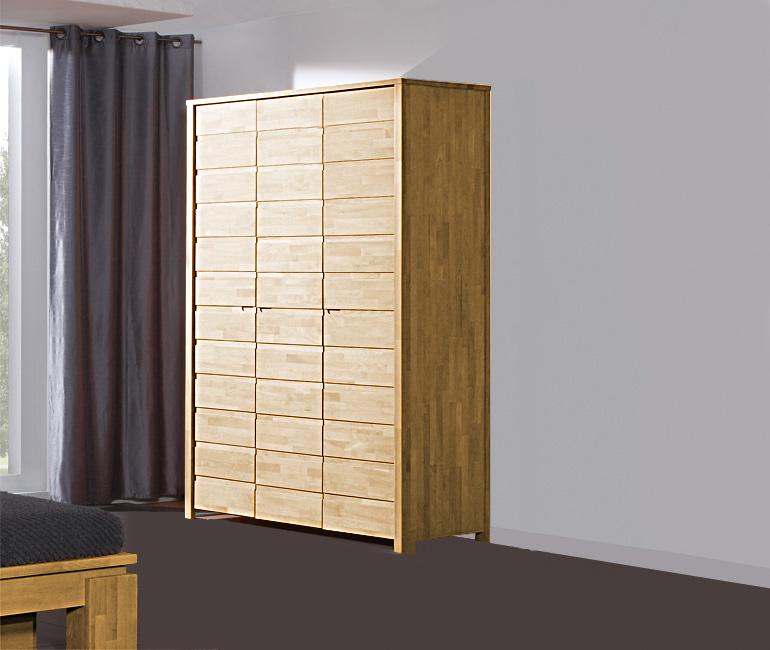 Dulap din lemn masiv de stejar Vinci 600 3D