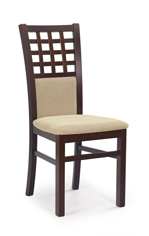 Scaun din lemn masiv de fag Gerard 3 nuc