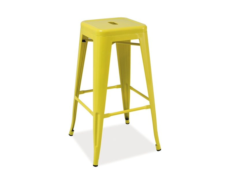 Scaun de bar Long Yellow