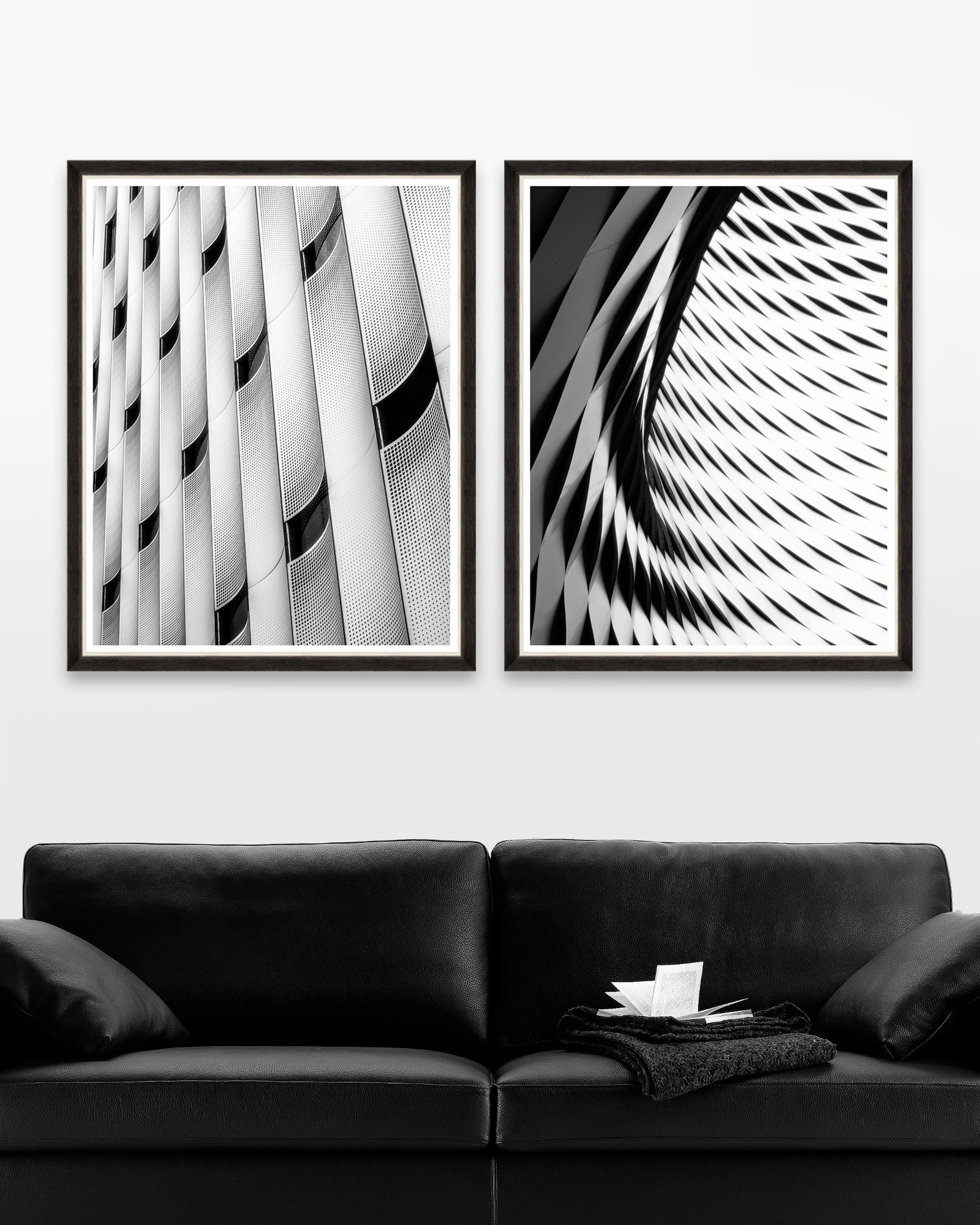 Tablou 2 Piese Framed Art Modern Architecture