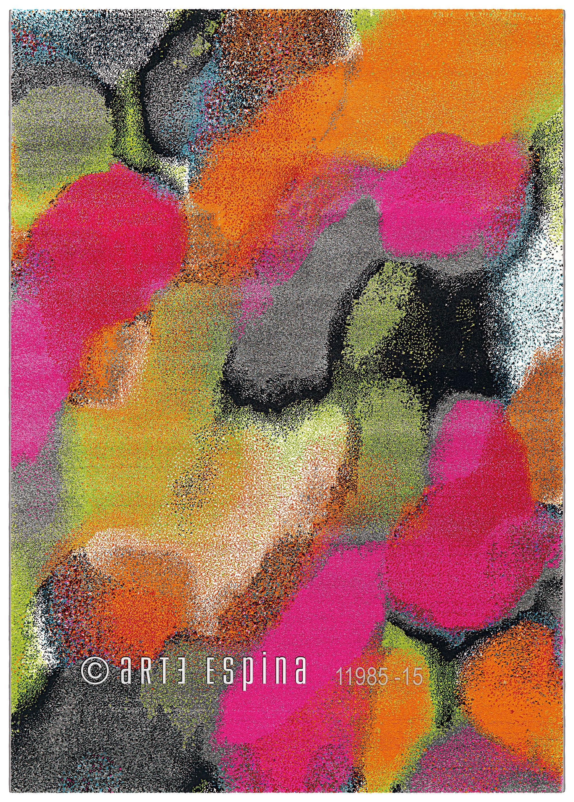 Covor Clash Ii Multicolor  Tesut Mecanic