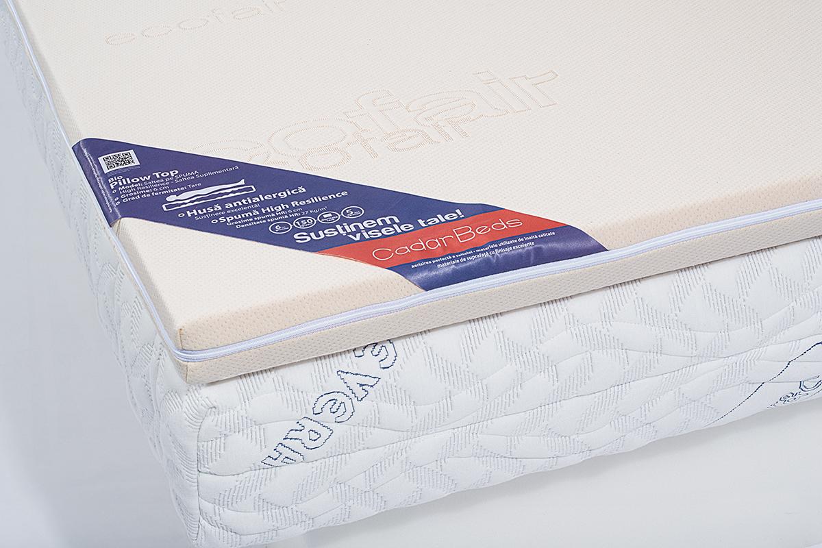 Saltea Suplimentara Bio Pillow Top  6 Cm