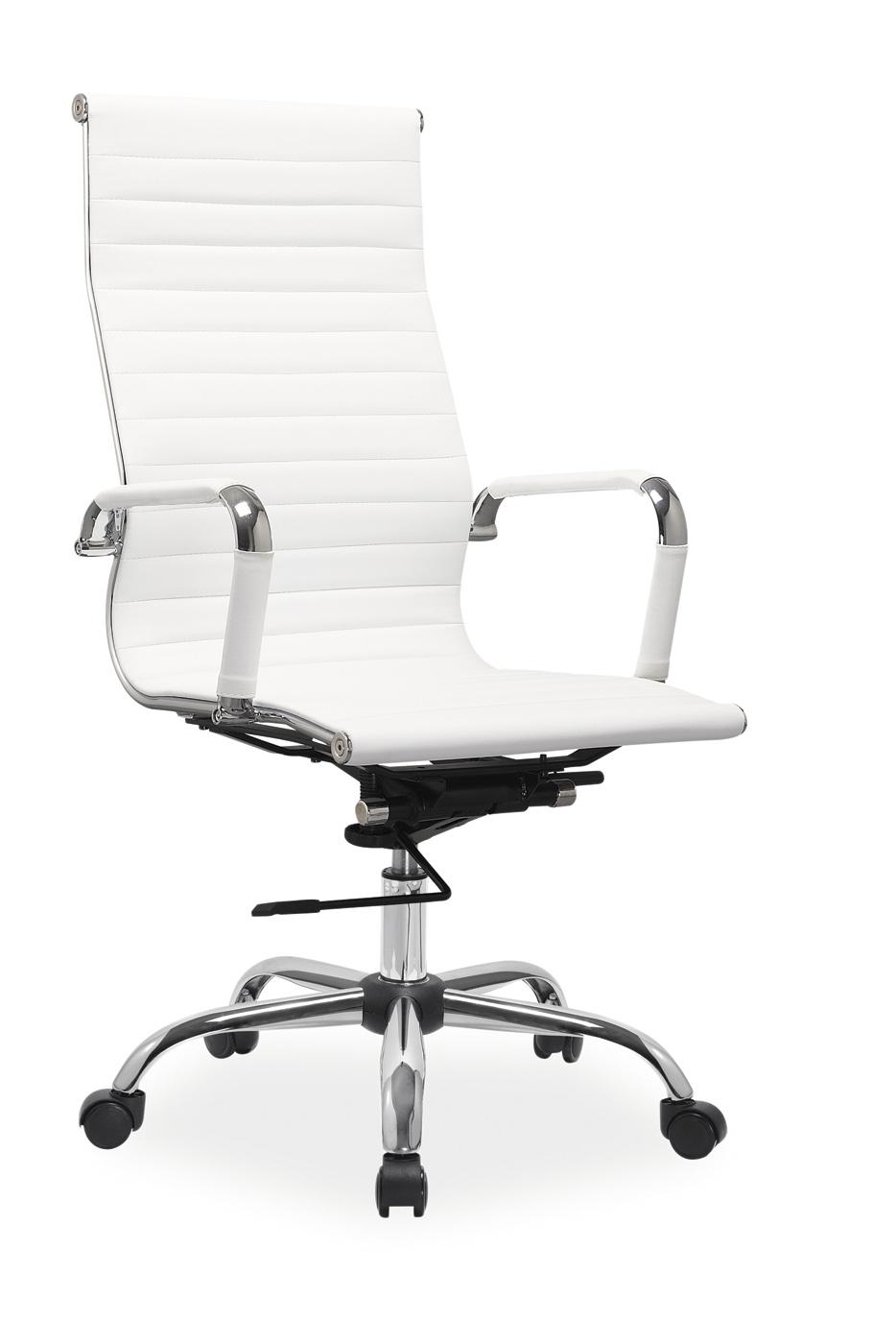 Scaun de birou directorial Q-040 alb