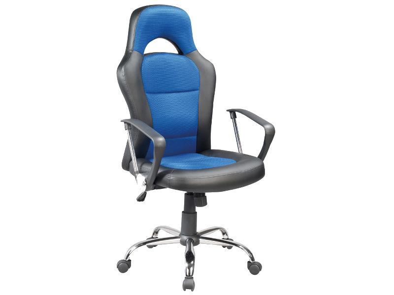 Scaun de birou directorial Q-033 Albastru