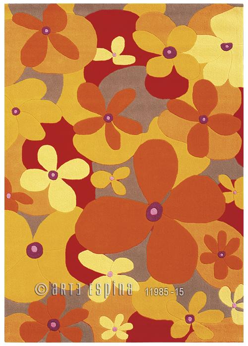 Covor Joy Rosu/portocaliu  Tesut Manual  205-28