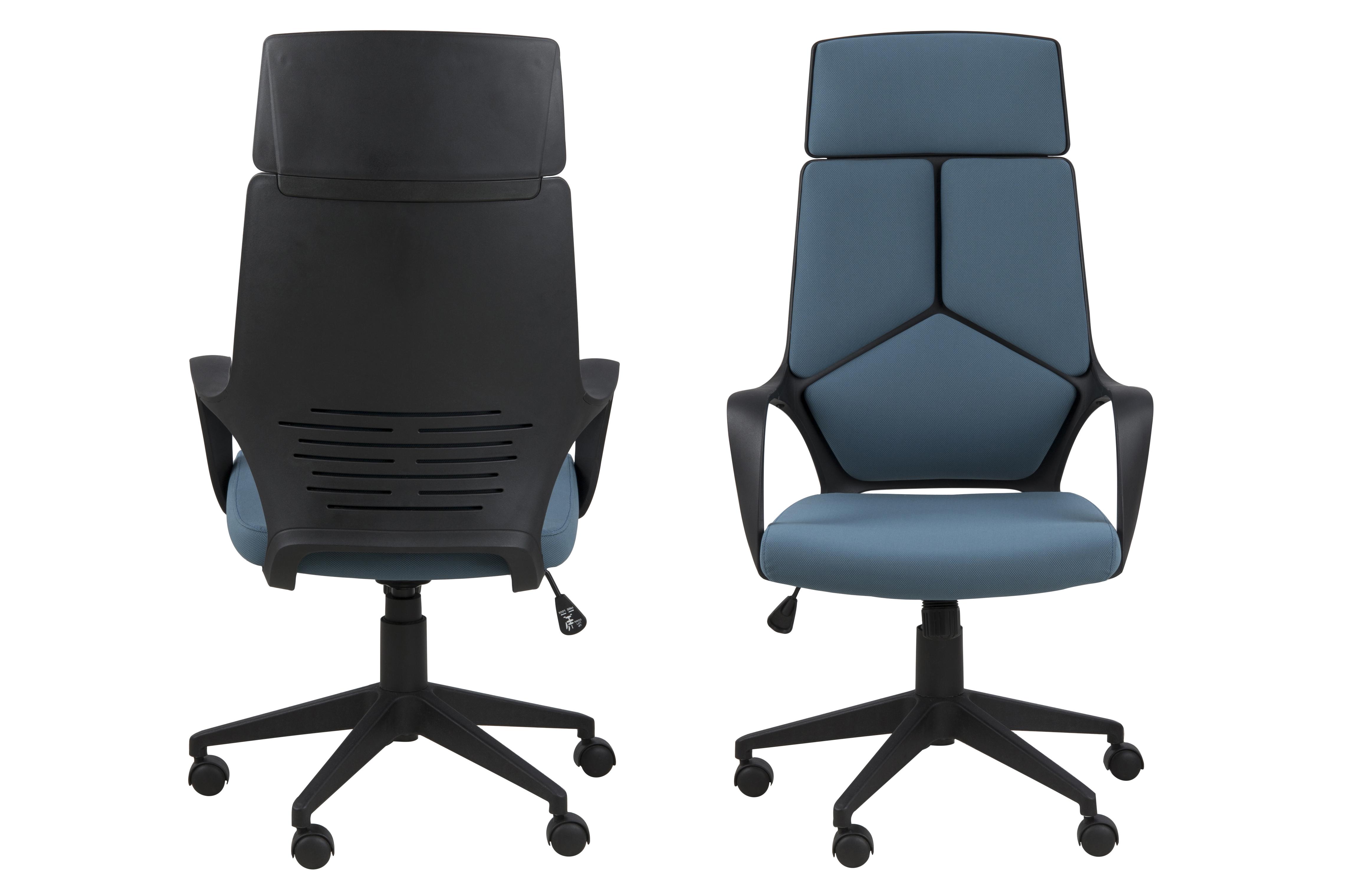 Scaun de birou ergonomic Dubnium Blue
