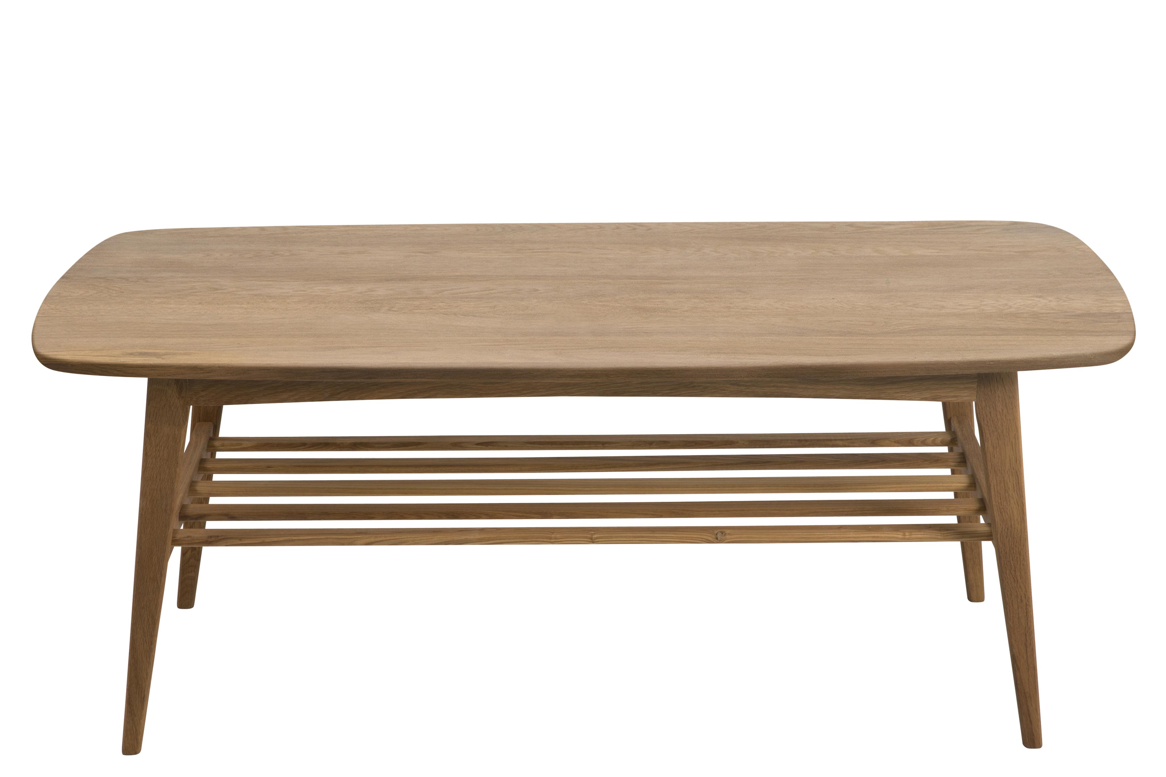 Masa de cafea din lemn si furnir Woodstock, L120xl60xh47 cm