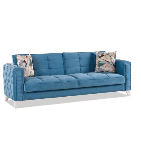 Canapea extensibila 3 locuri Ikon Turquoise K2