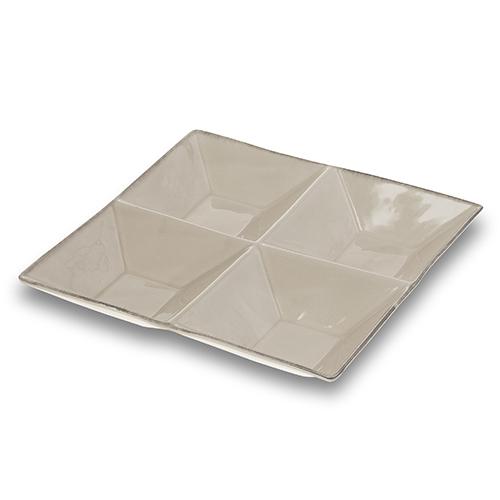 Platou ceramic Vintage cu 4 compartimente imagine
