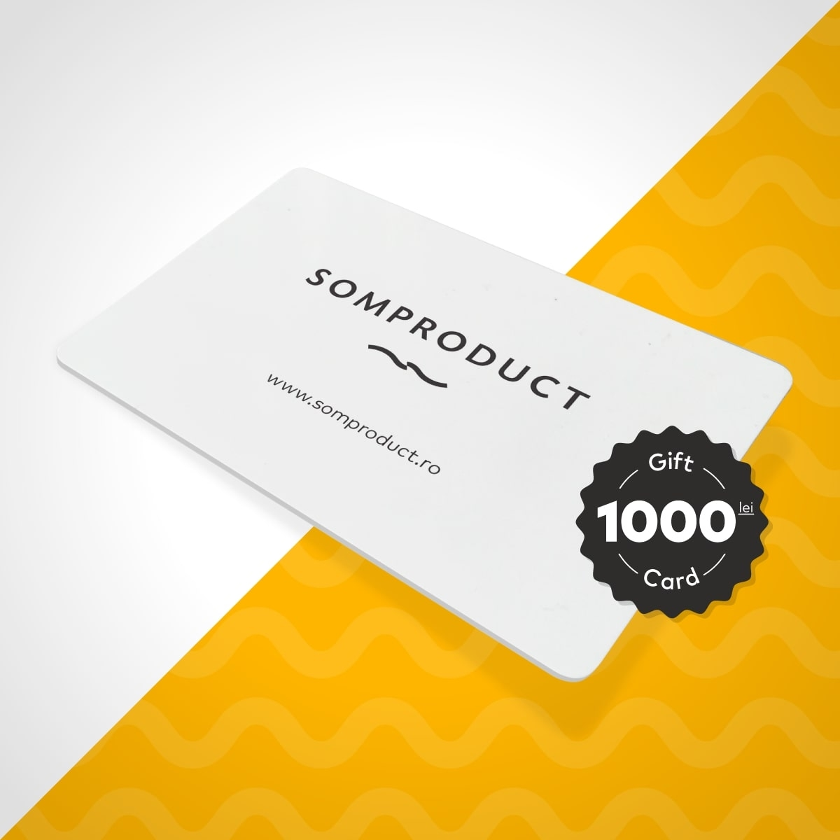 Gift Card SomProduct 1000 Lei din categoria General