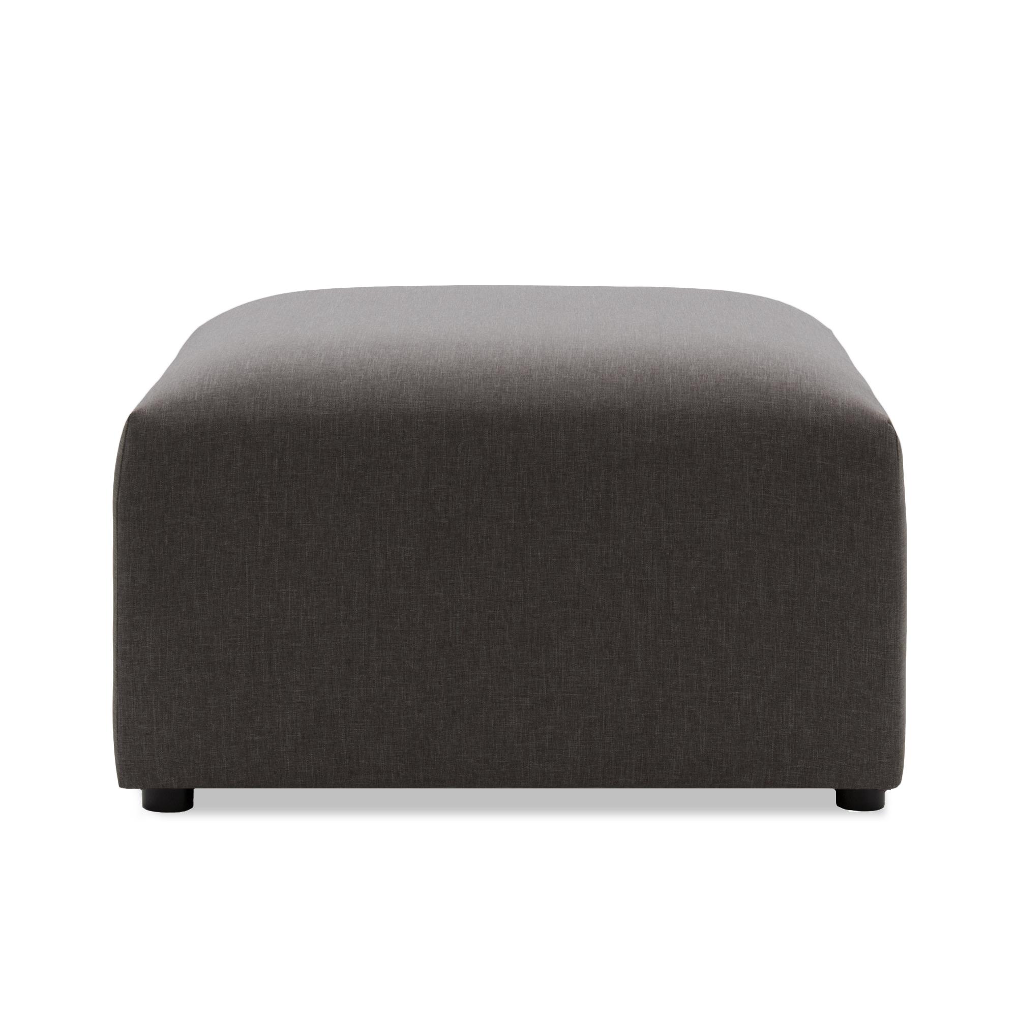 Taburet Cube Dark Grey