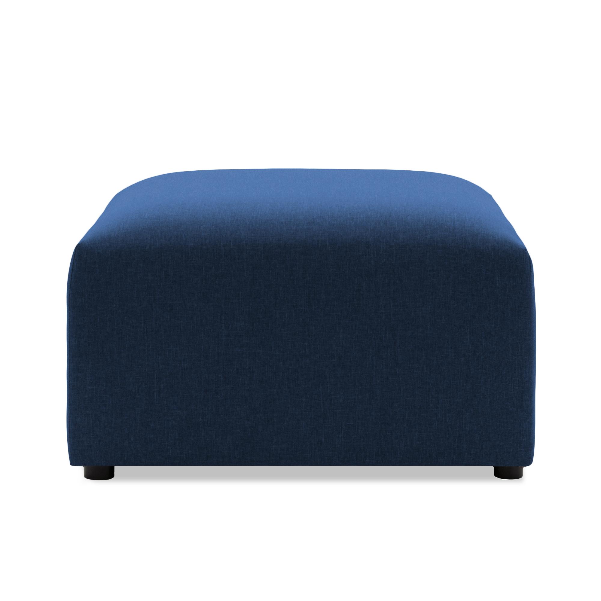 Taburet Cube Dark Blue