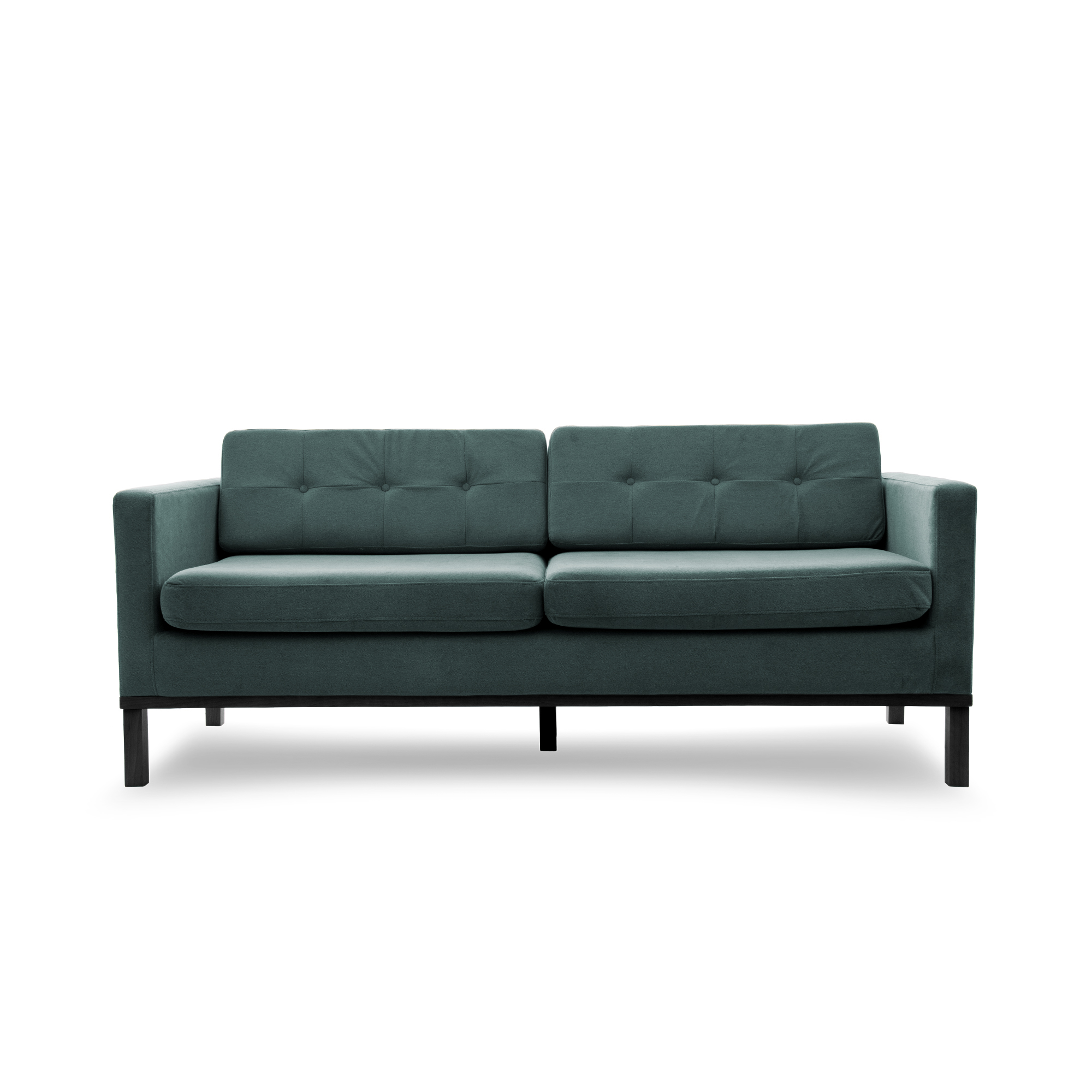 Canapea Fixa 3 locuri Jonan Light Blue/Black