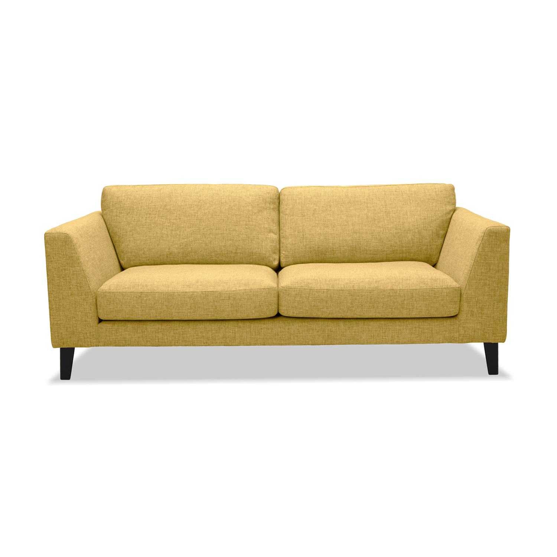Canapea Fixa 2 locuri Monroe Yellow