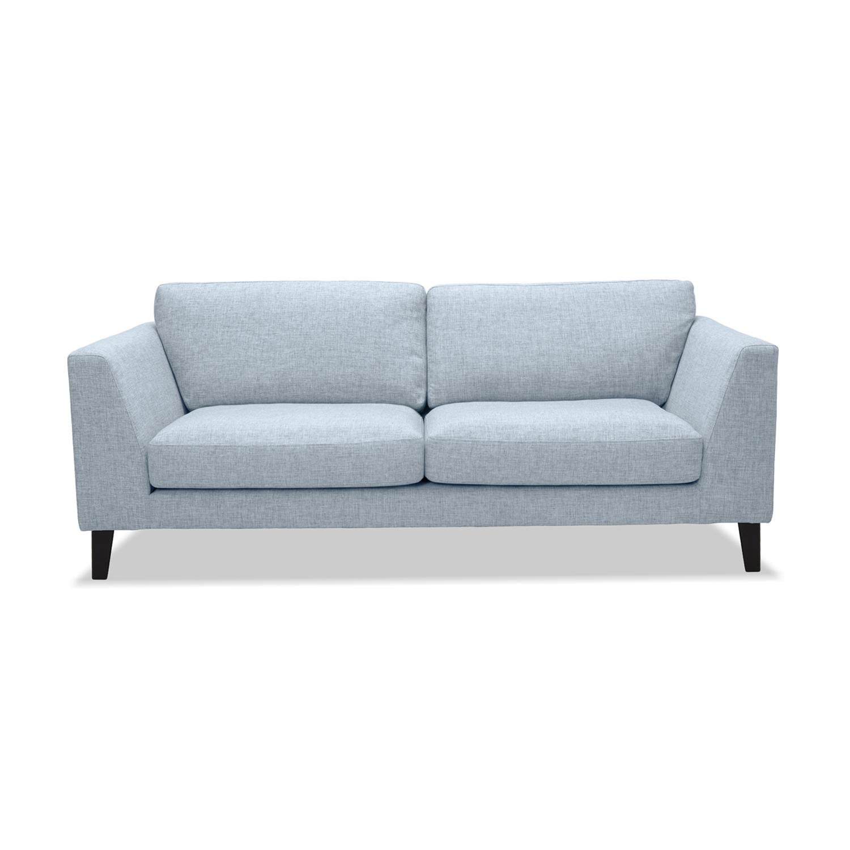 Canapea Fixa 2 locuri Monroe Silver
