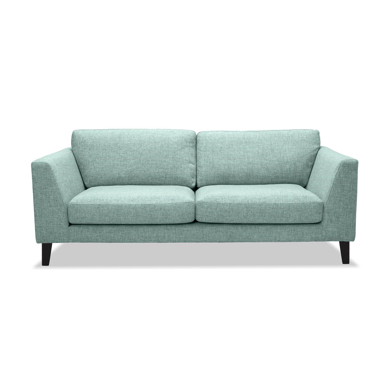 Canapea Fixa 2 locuri Monroe Light Turquoise