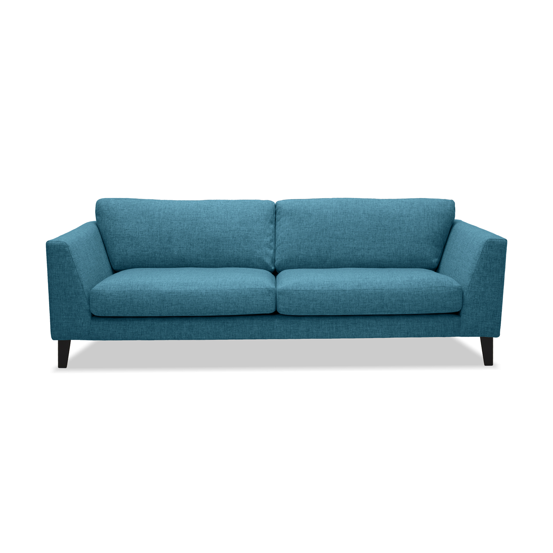 Canapea Fixa 3 locuri Monroe Turquoise
