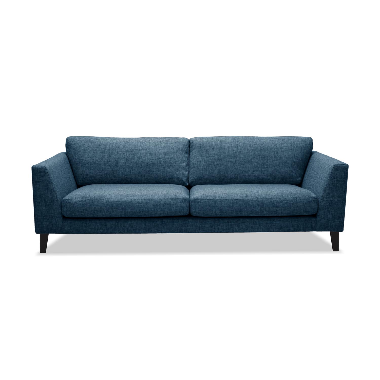 Canapea Fixa 3 locuri Monroe Blue