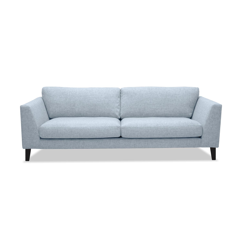 Canapea Fixa 3 locuri Monroe Silver