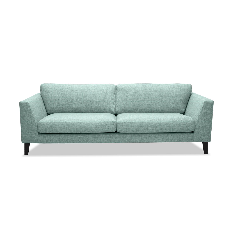 Canapea Fixa 3 locuri Monroe Light Turquoise