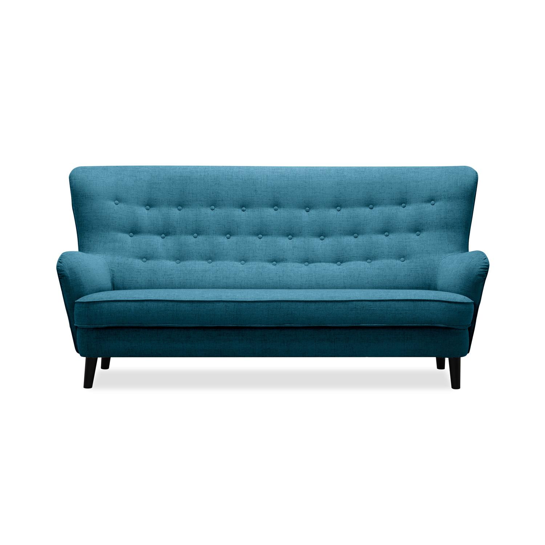 Canapea Fixa 3 locuri Fifties Turquoise