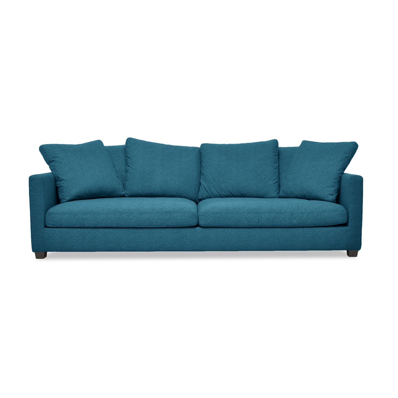 Canapea Fixa 3 locuri Hugo Turquoise