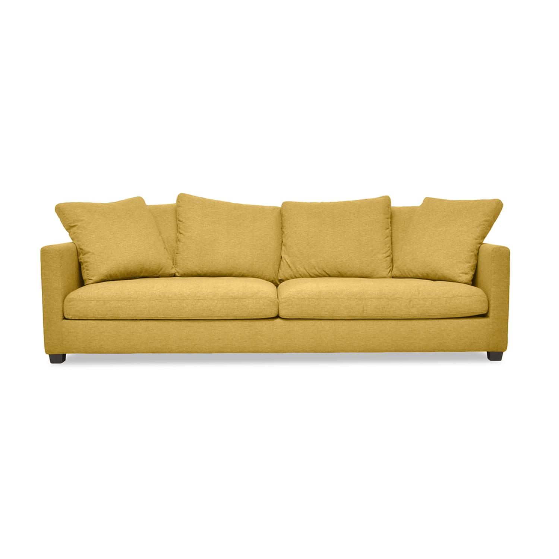 Canapea Fixa 3 locuri Hugo Yellow
