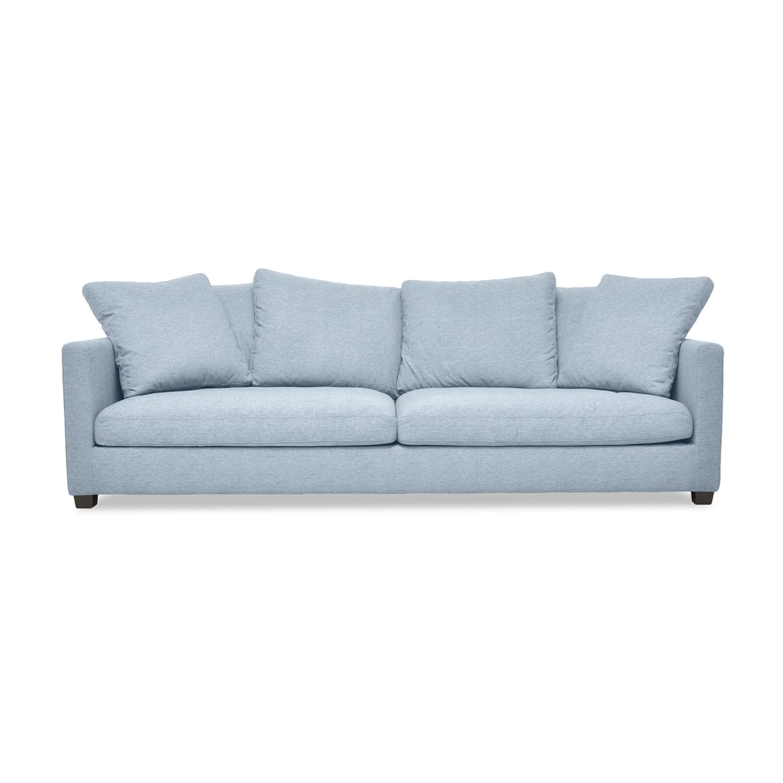 Canapea Fixa 3 locuri Hugo Silver
