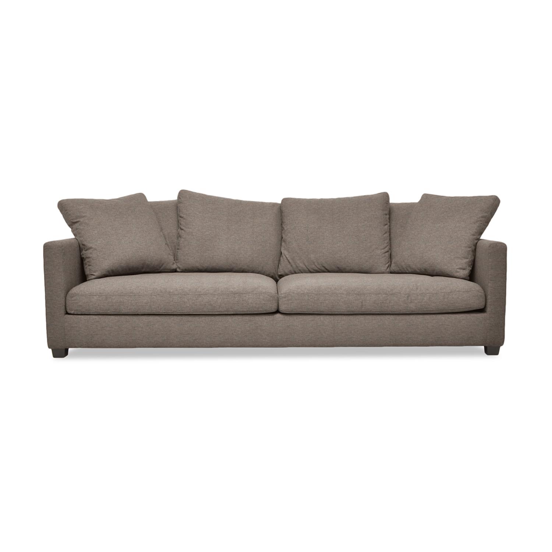 Canapea Fixa 3 locuri Hugo Light Brown