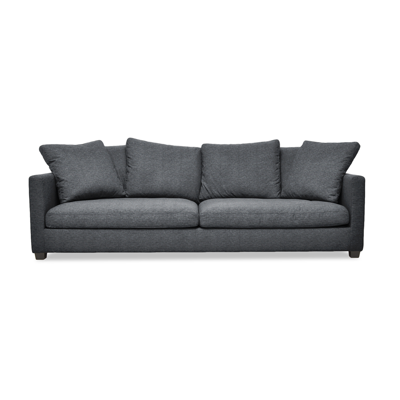 Canapea Fixa 3 locuri Hugo Antracit