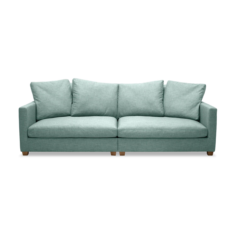 Canapea Fixa 3 locuri Hugo Blue
