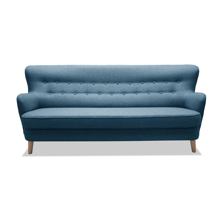 Canapea Fixa 3 locuri Eden Blue
