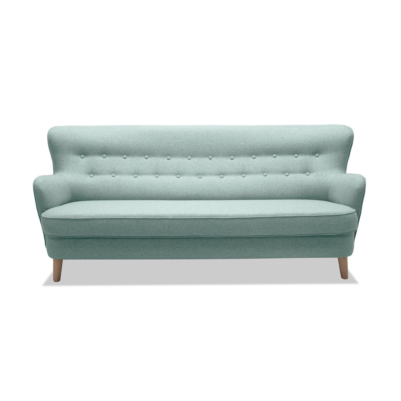 Canapea Fixa 3 locuri Eden Green