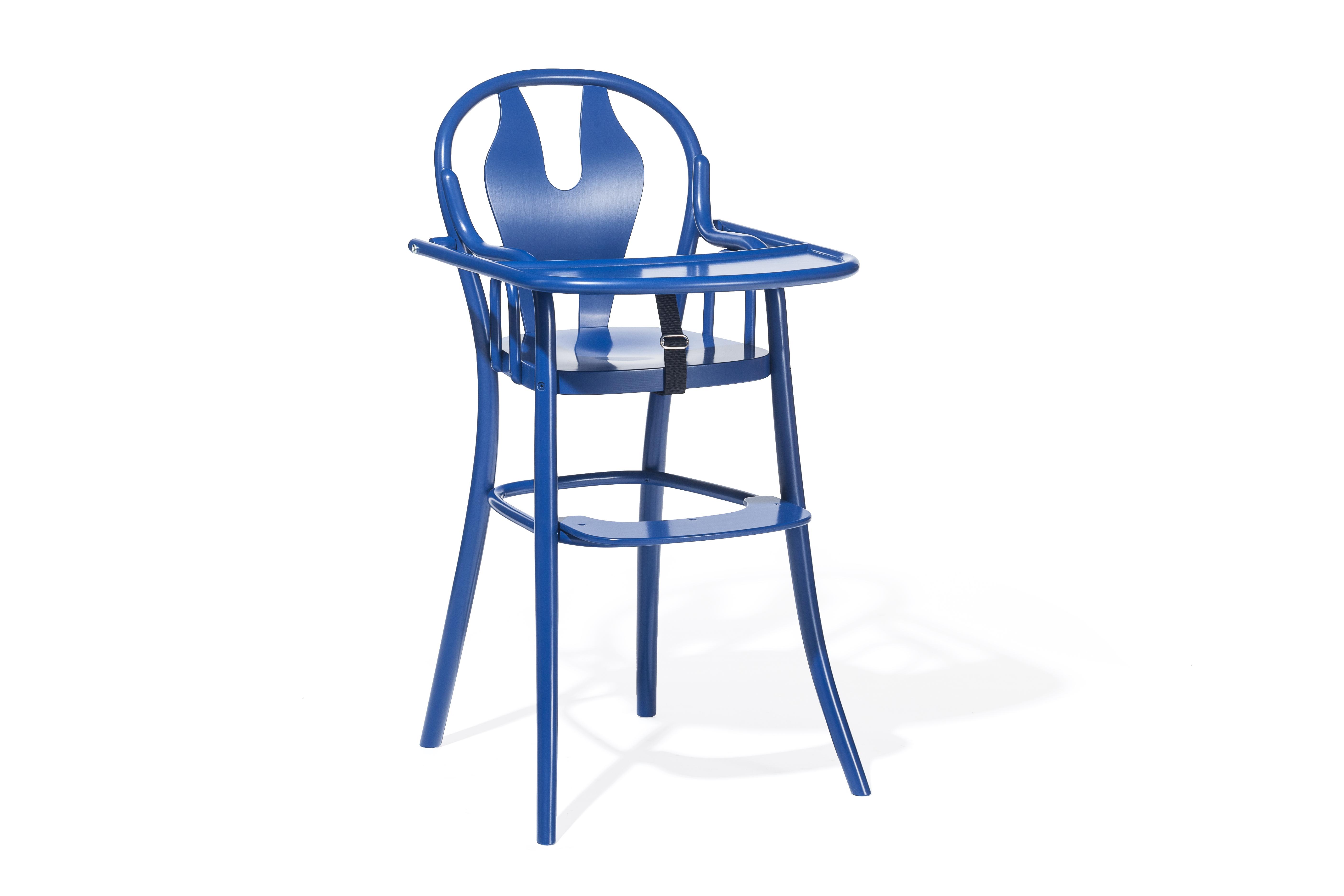 Scaun pentru copii, din lemn de fag Petit 114 Blue, l48xA57xH93 cm imagine