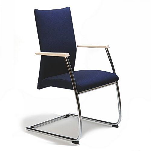 Scaun Tapitat Picioare Metalice - 4858