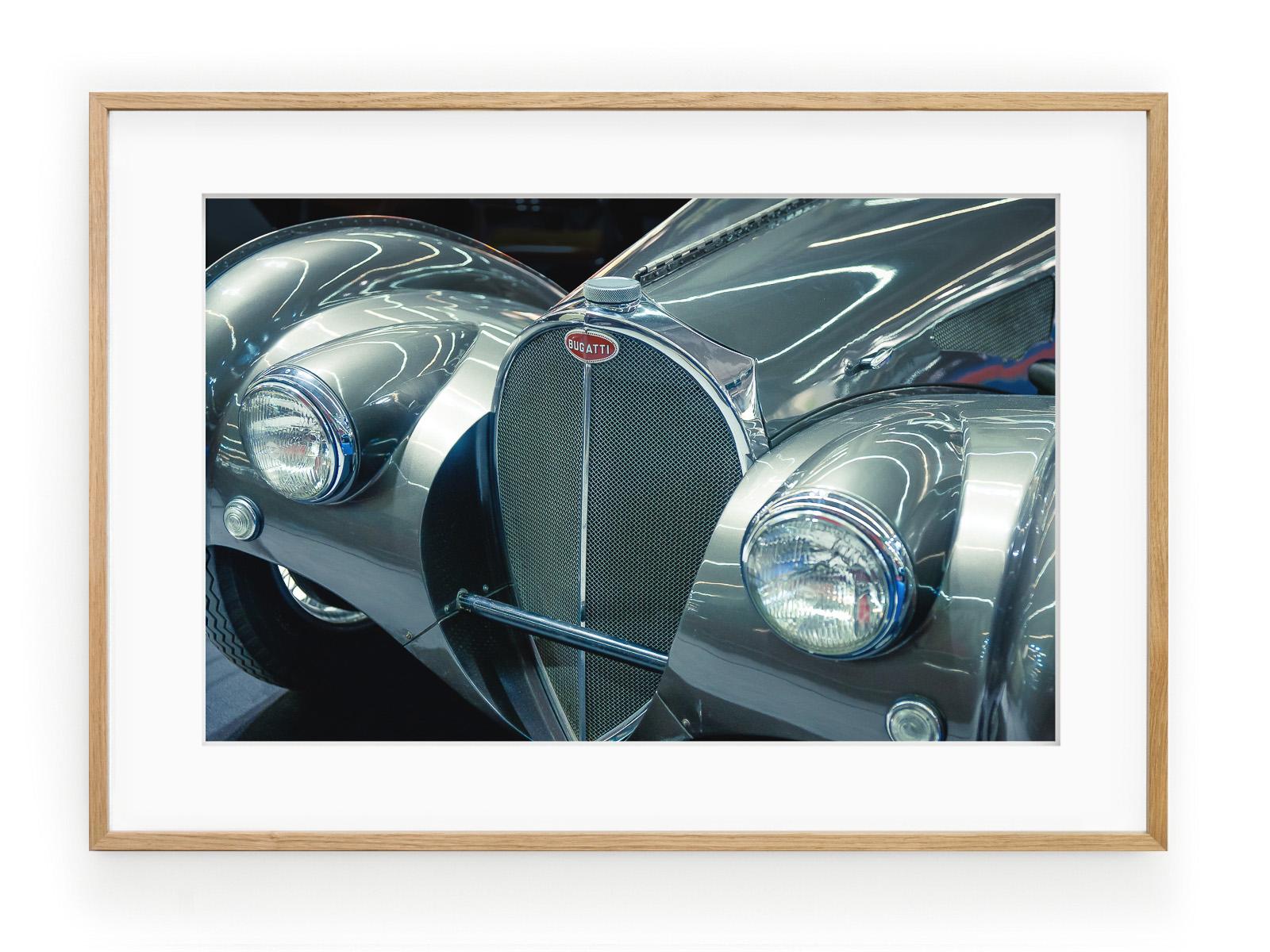 Tablou Bugatti Atlantic Oak