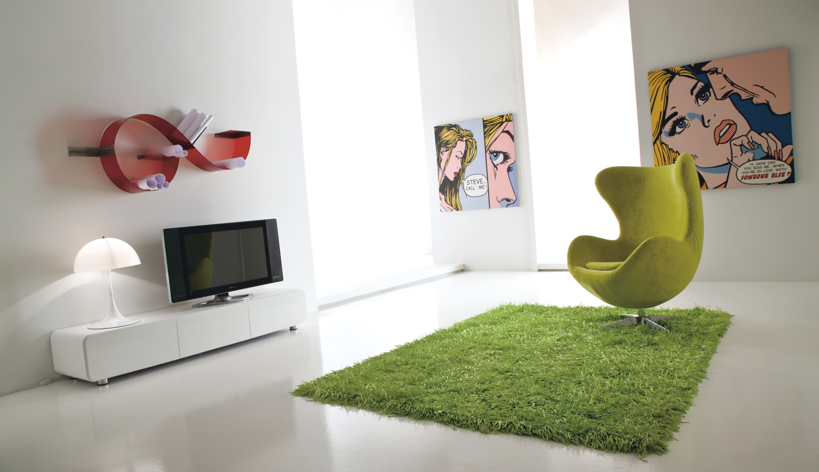 Comoda TV Plano, l180xA46xH33 cm