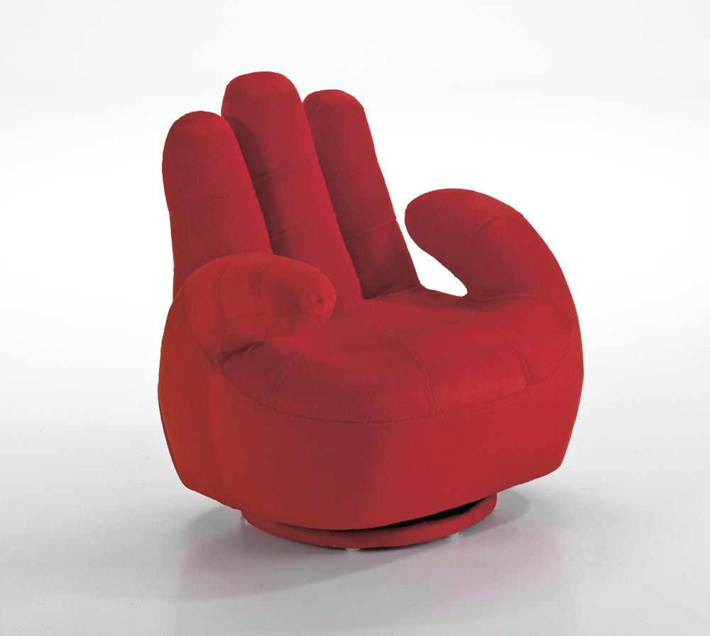 Fotoliu pentru copii Mano Red l52xA52xH57 cm