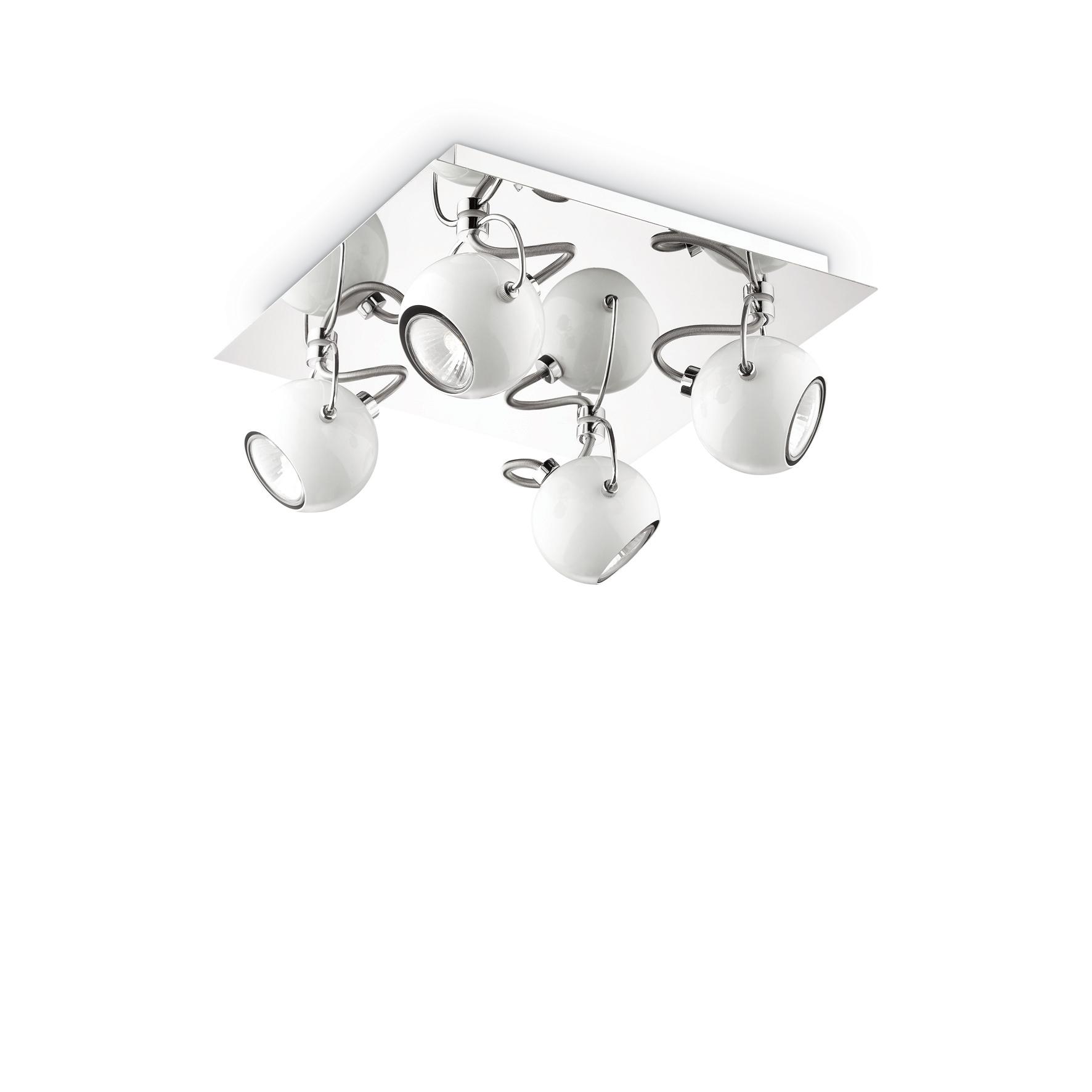Plafoniera Lunare PL4 White